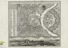 Plan von Dresden, 1:6 000, Kupferstich, 1755
