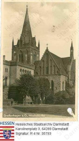 Greifenhagen, Nicolaikirche