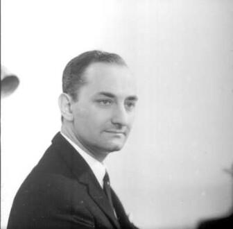Porträt Martin Turnovski (1967-1968 Kapellmeister der Sächsischen Staatskapelle und Generalmusikdirektor der Sächsischen Staatsoper Dresden)
