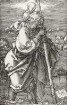 Der heilige Christophorus mit zurückgewandtem Kopfe