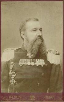 Franz von Roell, Oberst und Kommandeur, Brustbild