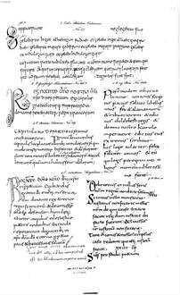 Schrifttafeln zum Gebrauch bei diplomatischen Vorlesungen : Handschriften. 4