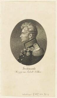Bildnis des Ferdinand, Herzog von Anhalt-Köthen