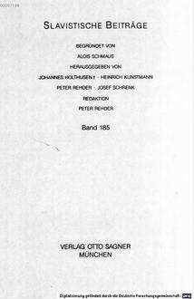 Goethes Lyrik in russischer Übersetzung : V. A. Žukovskij und F. I. Tjutčev als bedeutendste Goethe-Übersetzer der russischen Romantik