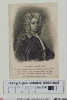 Bildnis Joseph Addison