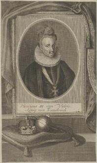 Bildnis des Henricus III. von Valois