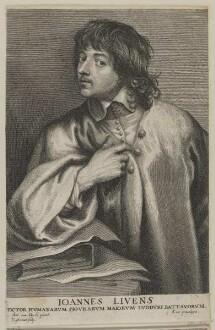 Bildnis des Ioannes Livens