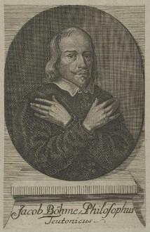 Bildnis des Jacob Böhme