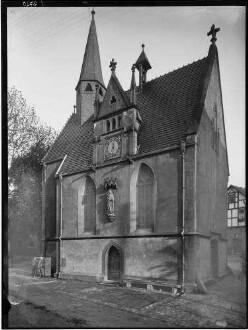Külsheim  Katharinenkapelle  Außenansicht von Nordwesten