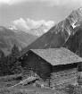 Allgäuer Alpen. Heustadel