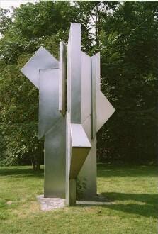 August Pigulla, Edelstahlstele, 1982