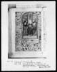 Lateinisch-französisches Stundenbuch (Livre d'heures) — Ausgießung des heiligen Geistes, Folio 115recto