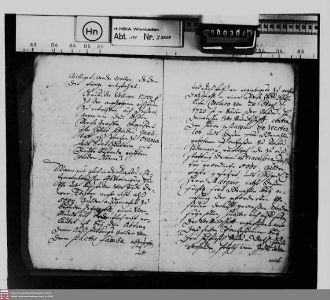 Gutachten der Juristischen Fakultäten der Universitäten Wittenberg und Halle wegen der Prinzessin Isabella Charlotte von Nassau-Diez nach Disposition ihres Vaters von 1695 zustehenden Ausstattungsgelder