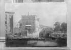 Der Aktienspeicher und die Herkulesbrücke zu Berlin