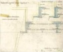 Fischer, Theodor; Stuttgart; Kunstausstellungsgebäude - Kuppelfenster (Grundriss, Grundriss m. Schnitt)