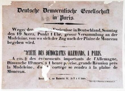 Deutsche Demokratische Gesellschaft in Paris Heinrich-Heine-Institut, Bildarchiv, Sammlung Krost