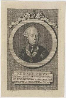 Bildnis des Heinrich Bravn