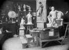 Künstleratelier Jos. Wilh. Menges (1856-1916), Bildhauer