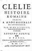 Clélie : histoire romaine. [3]. 2. partie. - 1655