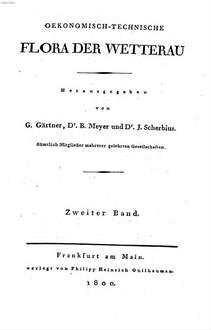 Oekonomisch-technische Flora der Wetterau. 2