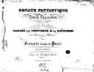 Sonate fantastique : pour le pianoforte
