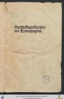 Explanatio psalmorum