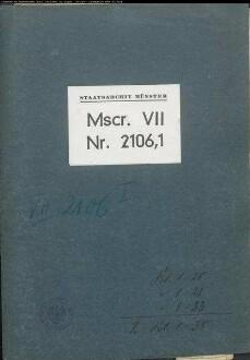 Fragmente Tecklenburger Lehnprotokolle mit Urkundenabschriften und Regesten, Bd. 1 -