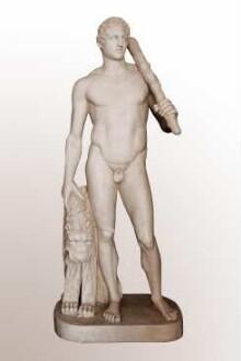 Gipsabguss einer römischen Marmorstatue nach einem griechischen Bronzeoriginal (um 340/330 v. Chr.)