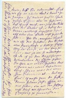 LEWALD-STAHR Fanny 1879-11-11, Rückseite