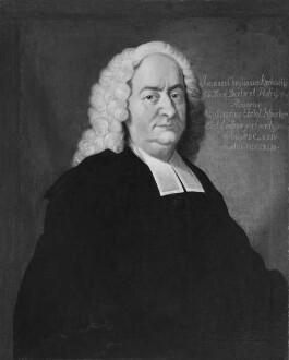 Bildnis des Johann Christian Kirchmeier, 1724-1743 Professor der Theologie in Marburg (1674-1743)