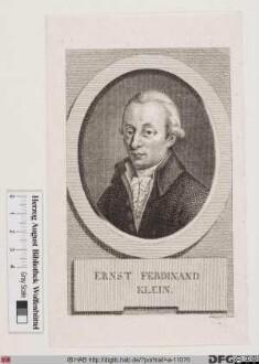 Bildnis Ernst Ferdinand Klein