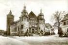Speyer, Große Pfaffengasse 7: Historisches Museum der Pfalz,  - mit Blick in die Große Pfaffengasse. Altbebauung am Museumbuckel noch vorhanden. -