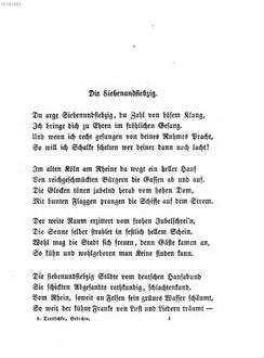Vaterländische Gedichte