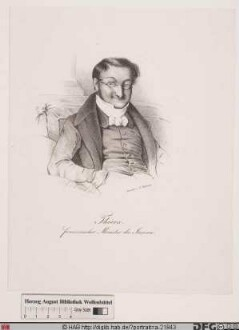 Bildnis Louis-Adolphe Thiers