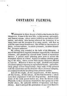 Contarini Fleming : a romance
