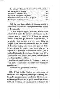 Traité de la législation des cultes, et spécialement du culte catholique, ou de l'origine, du développement et de l'état actuel du droit ecclésiastique en France. 2