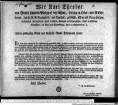 Wir Karl Theodor von Gottes Gnaden Pfalzgraf bey Rhein, Herzog in Ober- und Niederbaiern, des H. R. R. Erztruchseß, und Kurfürst, ... Unsern gnädigsten Gruß und kurfürstl. Gnade Jedermann zuvor. : Gegeben in Unserer Haupt- und Residenzstadt München den 2ten März 1785. Karl Theodor. Vt Fr. von Kreittmayr. Karl von Klessing, kurfürstl. geheimer Sekretarius.