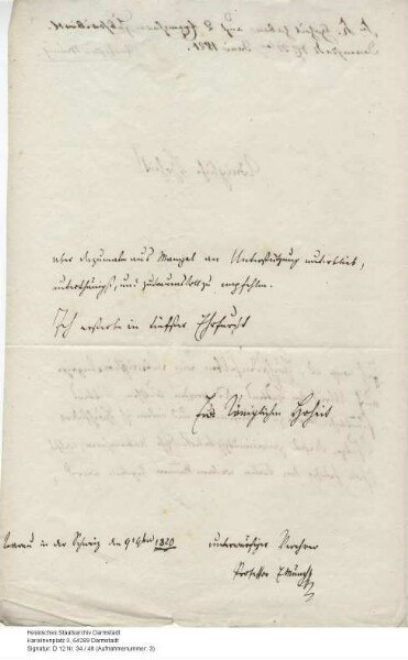 Münch, Ernst Joseph Hermann, Schrifsteller in Aarau