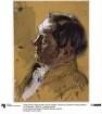 """Staatsminister Graf von Schwerin. Studie zum Gemälde """"Krönung Wilhelms I. in Königsberg"""""""