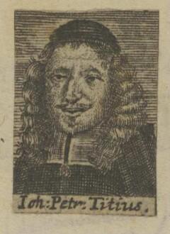 Bildnis des Iohannes Petrus Titius
