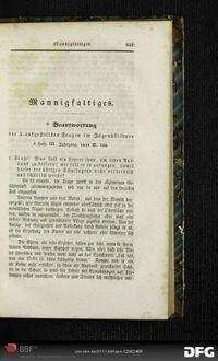 Beantwortung der 3 aufgestellten Fragen im Jugendbildner 3. Heft, III. Jahrgang, 1841 S. 103