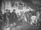 """""""Vaterländische Geschichtsgalerie"""": Bayern erhält die Kurwürde zurück, 1628"""