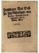 Zeyttingen Aus Brüssel, Im Niderland, von Valesin, Was sich allda zutragen hat, den 16. Aprilis Anno 1567