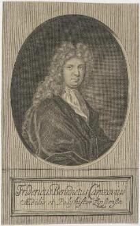 Bildnis des Fridericus Benedictus Carpzovius