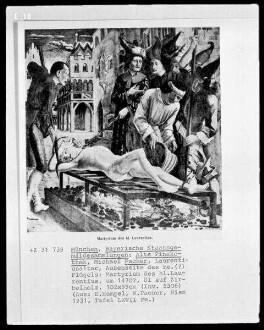 Laurentiusaltar — Das Martyrium des heiligen Laurentius