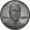 Medaille auf Dr. Hugo Eckener mit der Darstellung der Amerikafahrt 1924