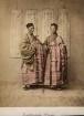Portrait zweier buddhistischer Mönche