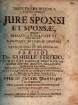 Disputatio Iuridica Inauguralis De Iure Sponsi Et Sponsae