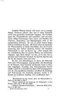 Leibniz und Schottelius : die unvorgreiflichen Gedanken