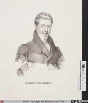 Bildnis Washington Irving